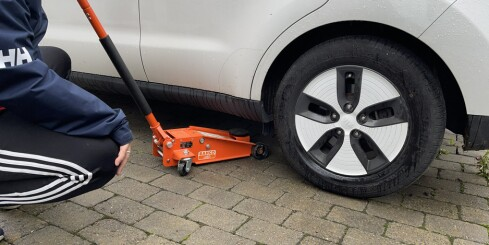 Image: Dette må elbil-eiere passe på når de skifter hjul