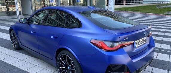 Image: BMW i4 M50: Mildt sagt imponerende