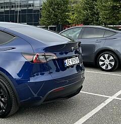 Image: - Feil ved nesten alle parkeringsplasser
